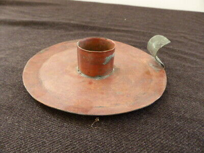 Antique/Vintage Copper Wee Willy candle stick holder