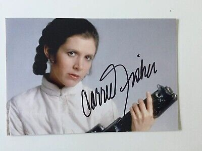 Star Wars (Princess Leia) Carrie Fisher Autograph