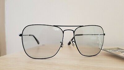 Ray-Ban B&L Vintage Bausch and Lomb Caravan Black Changeable size 58