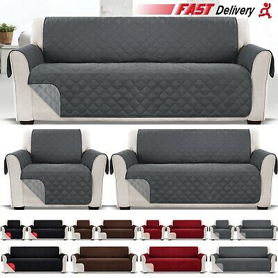 Sofa Cover Anti Slip Throw Seat Couch Covers Quilted Furniture Protector Cat Pet