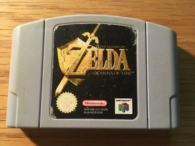 Zelda Ocarina Of Time Nintendo 64 N64 Pal