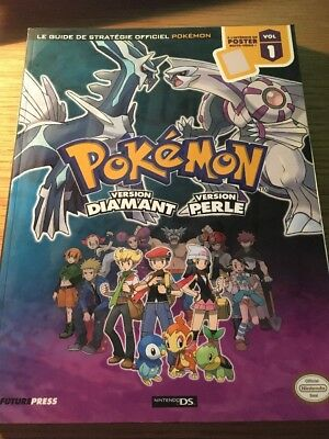 Guide Officiel Pokémon Version Diamant Et Perle Nintendo Ds VF