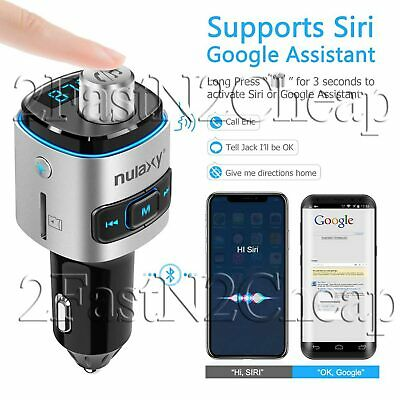 Am FM Transmitter For Car Bluetooth Adapter Wireless An USB Radio