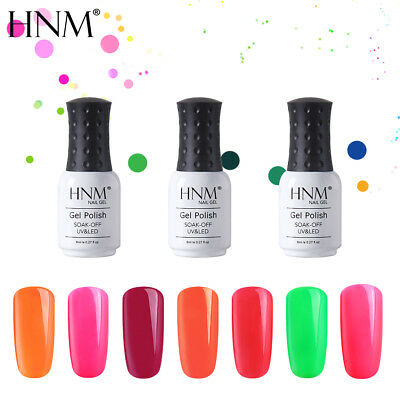 HNM Marseac Esmalte Semipermanente de Uñas en Gel Manicura UV LED Soak Off 8ML