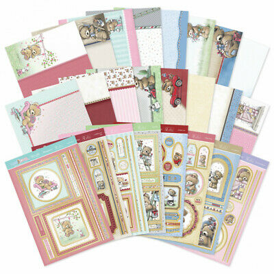 Hunkydory - Teddy Loves Topper Collection - TEDLOVE101