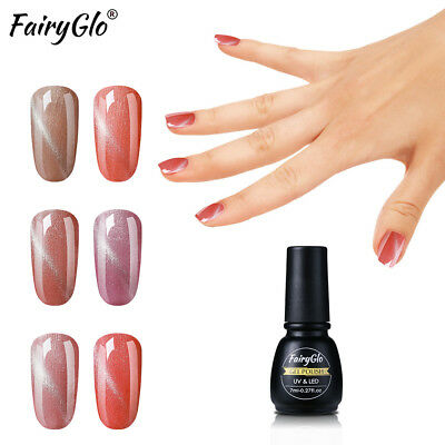 FairyGlo UV LED Soak Off Esmalte Semipermanente de Uñas en Gel Manicura 7ML