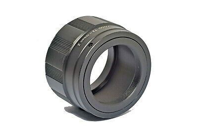 T2 Mount T-2 Lens to Nikon Z Mount for Nikon Z6, Z7 etc Mirrorless Cameras