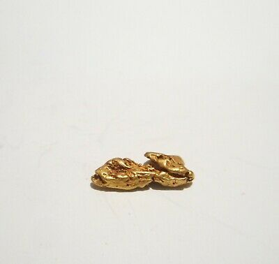 Genuine Australian Gold Nugget Found In The Goldfields 0.74 Grams No 21