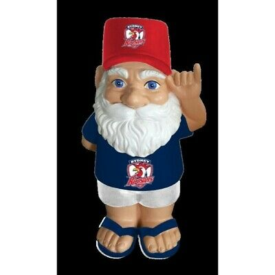 Sydney Roosters Official NRL Hawaiian Garden Gnome Gift Box 30cm
