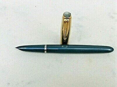 Vintage Parker 51 1/10 12ct Rolled Gold Fountain Pen