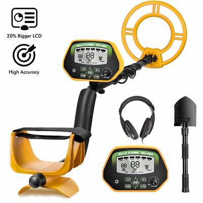 RM RICOMAX Professional Metal Detector GC-1037【Disc & Notch & Pinpoint Modes】 Me
