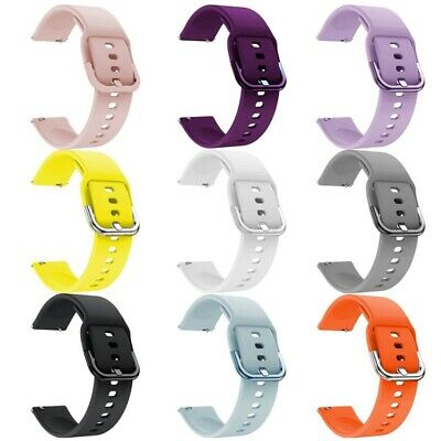 Sport Silicone Band Replacement Strap 20mm For Samsung Galaxy Watch Active