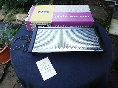 Vintage G.E.C Plate Warmer with Original Packaging