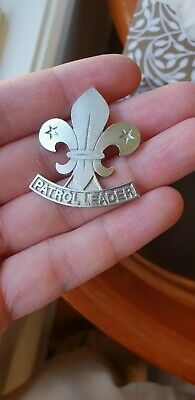 Vintage Boy Scout: Awesome Patrol Leader Hat Badge (Uncommon)