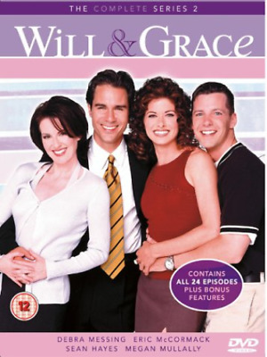 Will and Grace: Complete Series 2 (DVD) (2004) Debra Messing
