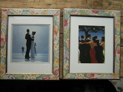 Pair Of Framed Jack Vettriano Prints, Waltzers And Dance To The End Of Love