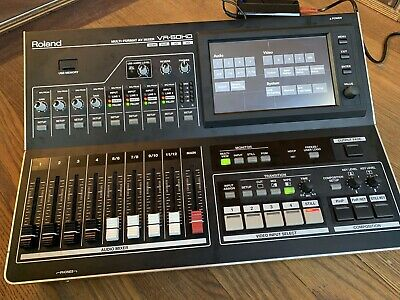 Roland VR 50HD AV Mixer / Vision Mixer / Streaming - Excellent Condition