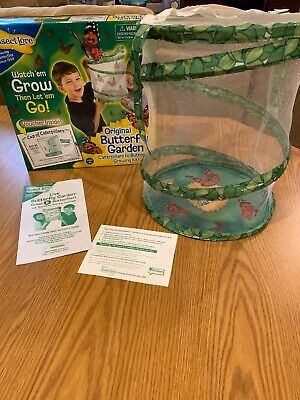 Insect Lore Live Butterfly Garden Science Educational Toy Kit Includes Voucher