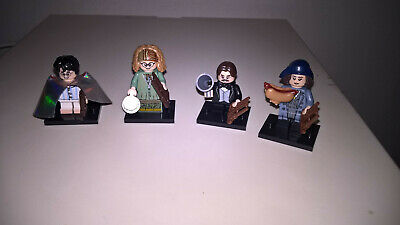 LEGO MINIFIGURES Serie Wizarding World Harry Potter lotto 4 personaggi