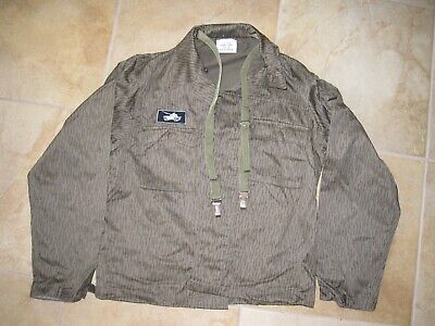Vintage East German Military Armor Tanker Field Combat Camouflage Uniform Small