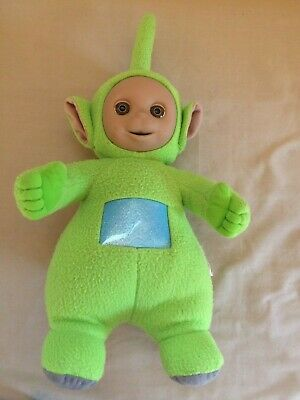 TELETUBBIES DIPSY PLAYSKOOL 1998 TELETUBBIES RAGDOLL PLUSH DOLL TV SERIES 12 /""