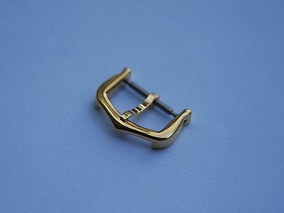 16mm CARTIER GOLD PLATED TANG WATCH STRAP PIN BUCKLE