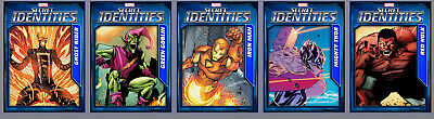 Topps Marvel Collect Card Trader Tilt Secret Identities Wave 3 Set of 5