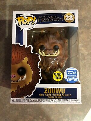 Funko Pop! Fantastic Beasts: Zouwu. Glows In The Dark Exclusive Funko Store New