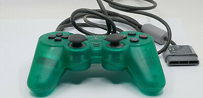 Official Sony PlayStation PS1 PS2 Analog Emerald Green SCPH 1200 Controller