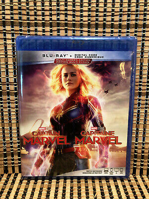Captain Marvel (Blu-ray, 2019)Disney/Avenger.Nick Fury.Samuel LJackson