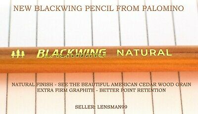 Two Palomino Blackwing Natural Pencils - NEW Extra Firm
