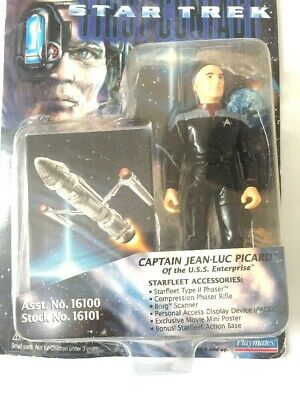"""Star Trek First Contact  Picard Playmates 6"""" Action Figure Captain Jean-luc  NEW"""