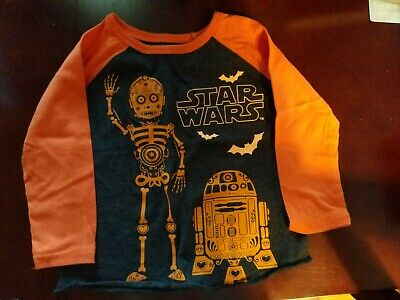 Star Wars 18 Month Halloween Shirt New Without Tags