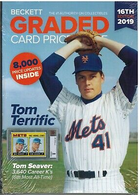Beckett 2019 GRADED Cards Annual Price Guide 16th Edition TOM SEAVER NY METS