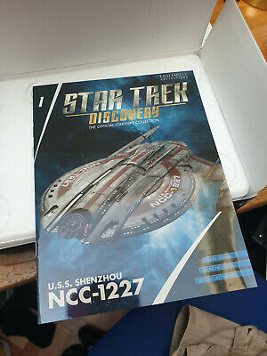 USS SHENZHOU collection Star Trek Discovery