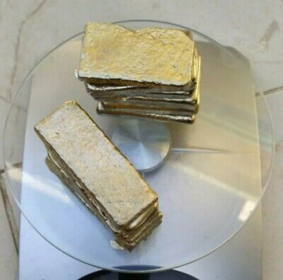 1129 Grams Scrap Gold LOT Bar For Gold Recovery Melted Different Computer Pins