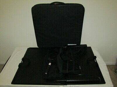 Saunders Lumbar Hometrac Deluxe Traction Unit Carry Case - READ