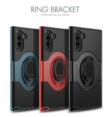 For Samsung Galaxy Note 10 Plus Hybrid Magnetic Ring Holder Stand Case Cover