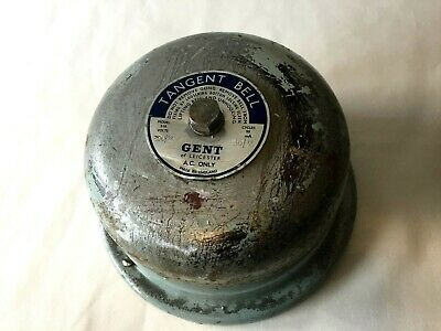 Rare Vintage Conventional Bell Circa 1960's - Tangent Bell By Gent Of Leicester