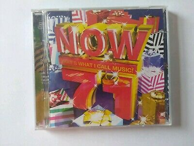 Various Artists : Now That's What I Call Music! 71 CD 2 discs (2008) Great Value
