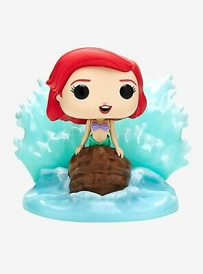 Funko Pop Disney Little Mermaid Series Ariel Finding Your Voice Hot Topic Exc