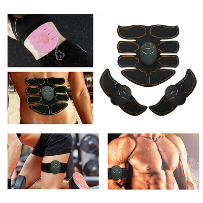 Ultimate EMS AB Arms Muscle Simulator ABS Training Home Abdominal Trainer Set A6
