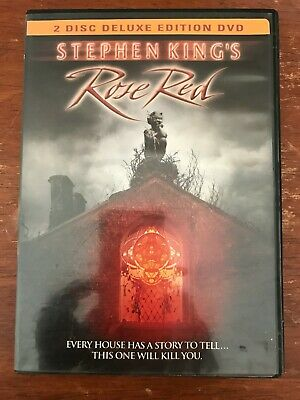 Rose Red (DVD, 2002, 2-Disc)*Stephen King Nancy Travis