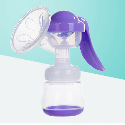 Baby Feeding Manual Breast Pump Nipple Suction Bottle Sucking Milk Extractor LH