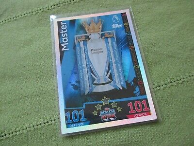 Match Attax Attack 2018/19 18/19 2018/2019 Master Trophy 101 Card RARE