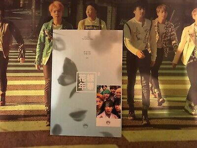 BTS [In The Mood For Love] PT.2 4th Mini Album (Blue Ver.) + Photocard & Poster