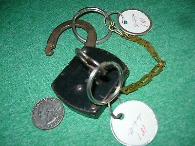 Thura Rare Antique Padlock With Working Key