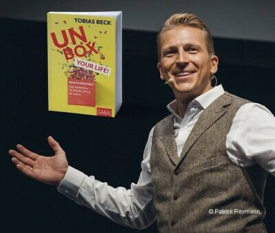 Tobias Beck Tickets Reihe 1 Unbox Your Life 22.10.2019 in Berlin