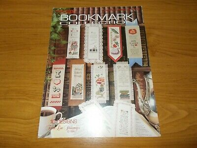 Cross Stitch Leaflet~Bookmark Collection~10 Designs~Leisure Arts~1986