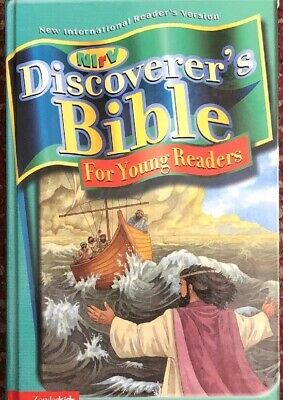 NIrV Discoverer's Bible For Young Readers (2002, Hardcover): Sonlight Core D